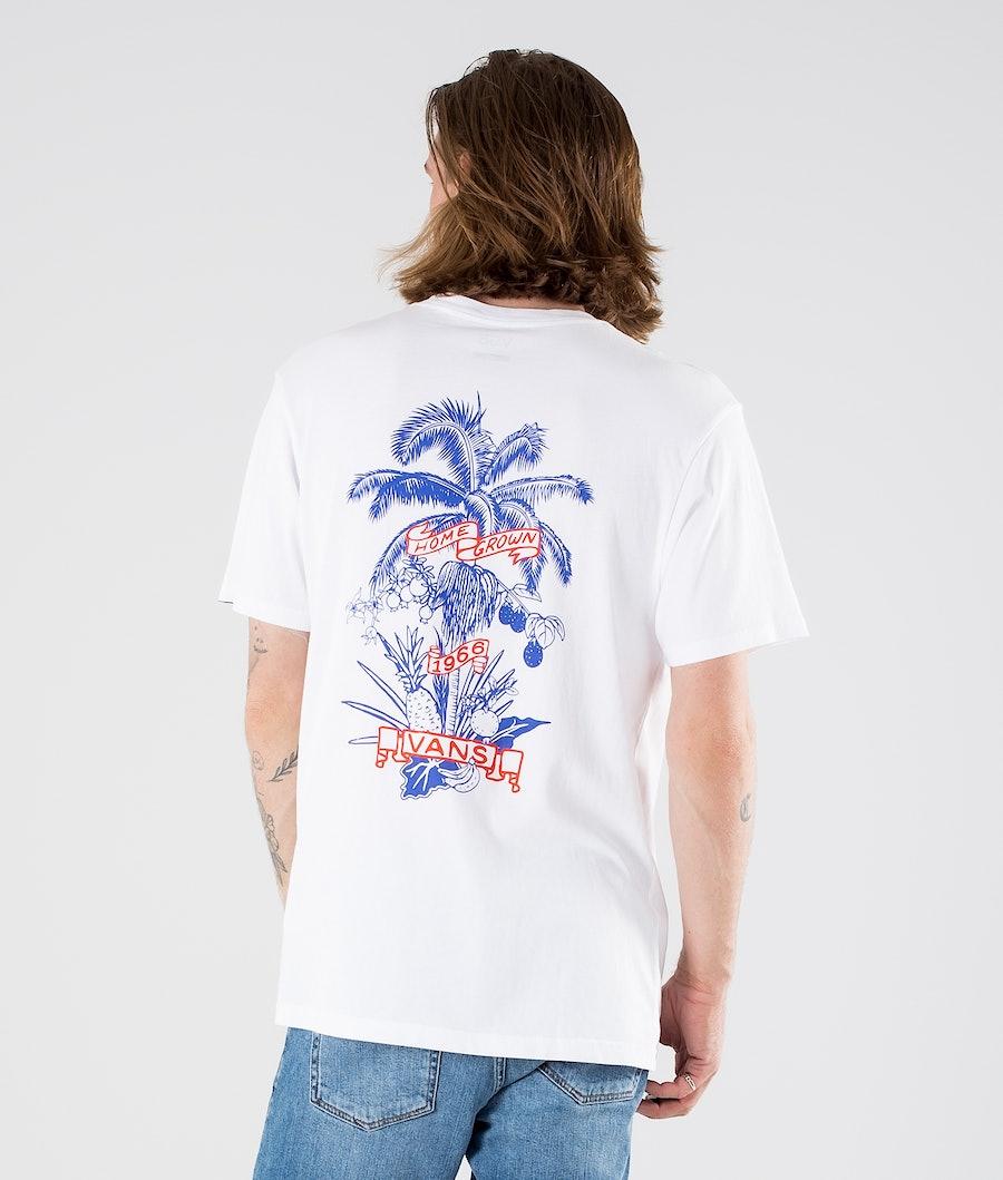 Vans Market Print T-shirt White