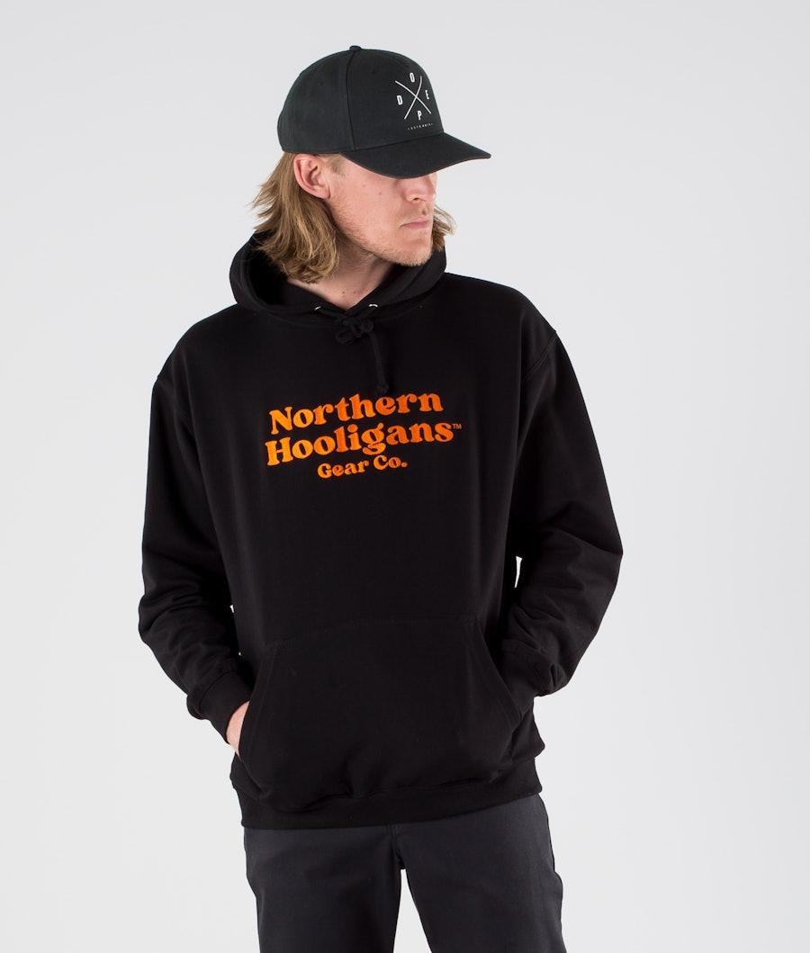 Northern Hooligans Twenty-One Embroidered Hood Black
