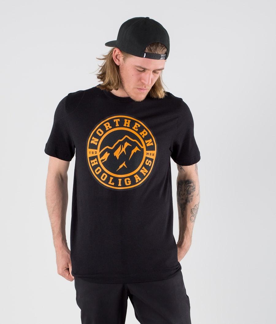 Northern Hooligans Uno T-shirt Heather Black