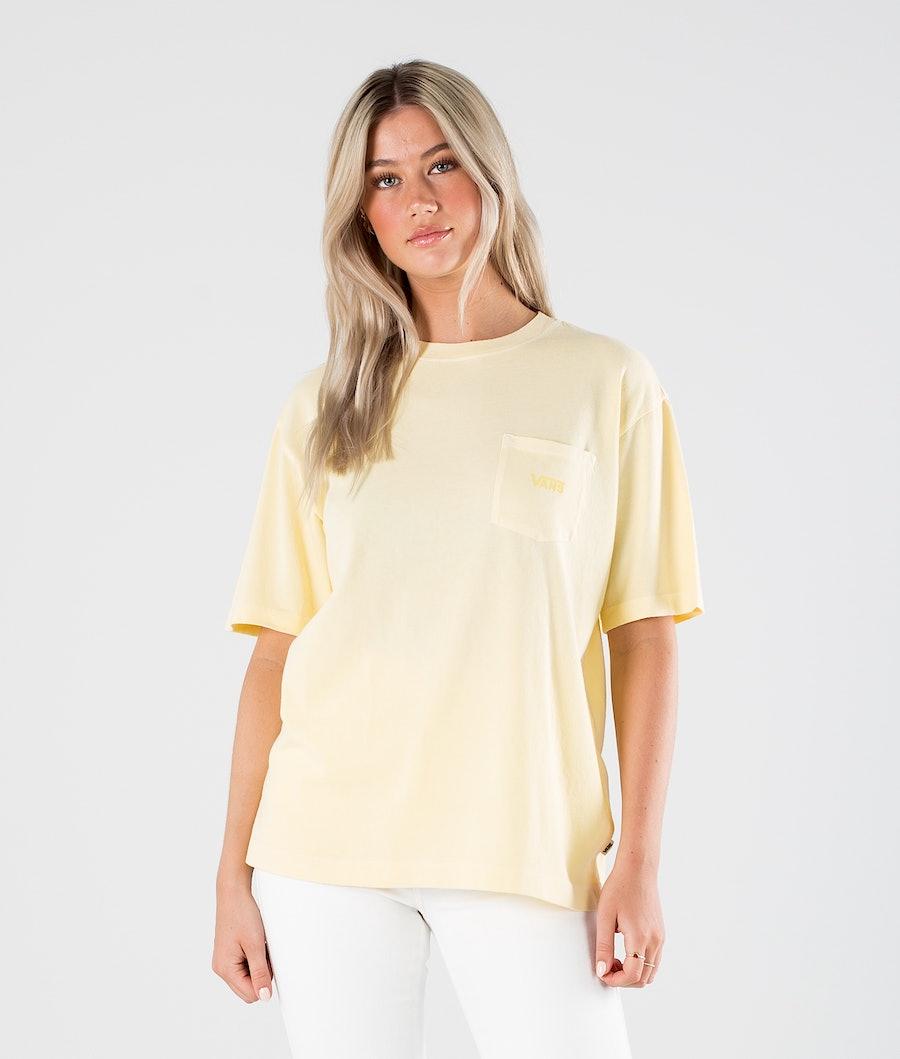 Vans Pocket V T-shirt Mellow Yellow