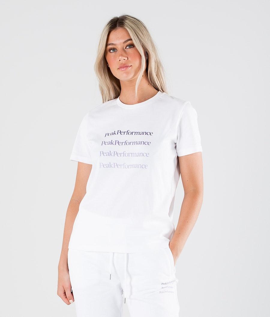 Peak Performance Ground 1 T-shirt White