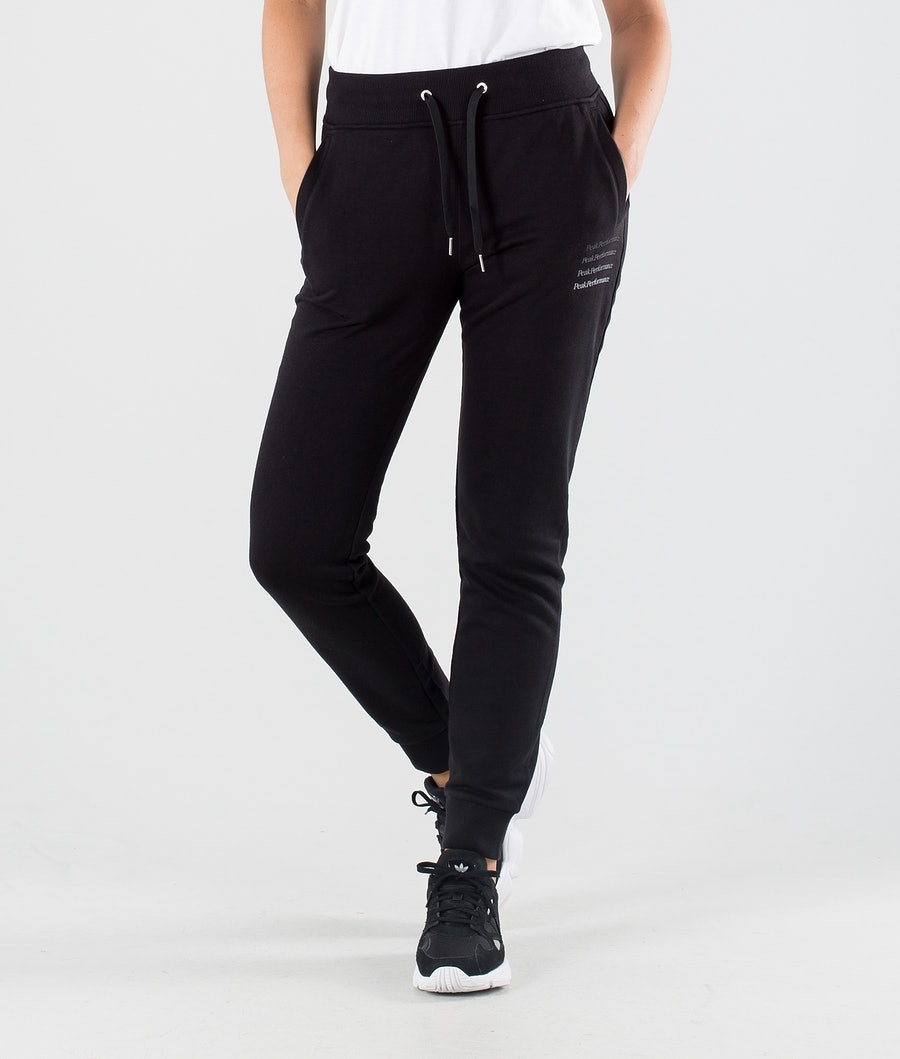 Peak Performance Ground Tapered Outdoor Trousers Black
