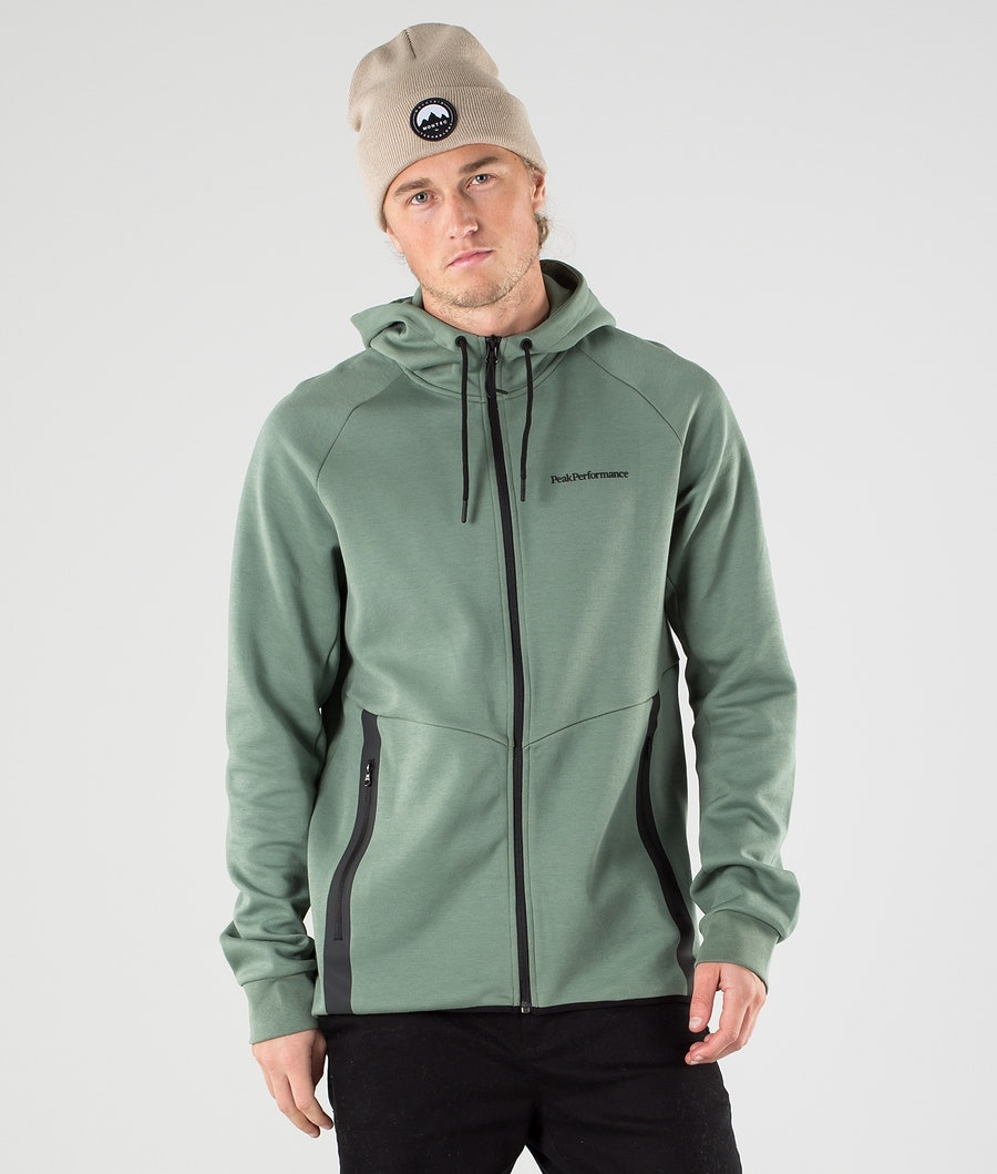 Peak Performance Tech Zip Hoodie Fells View