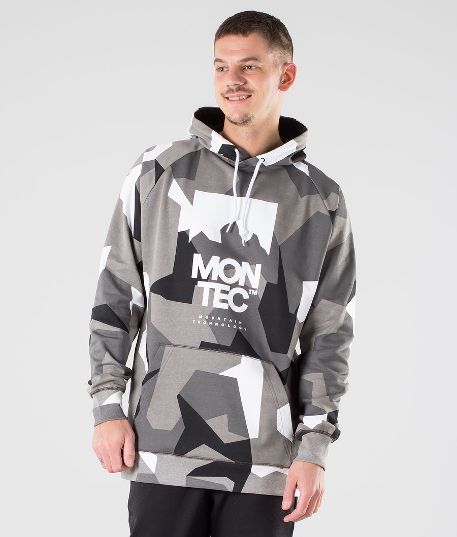 Montec Classic Hoodie Snow-Camo