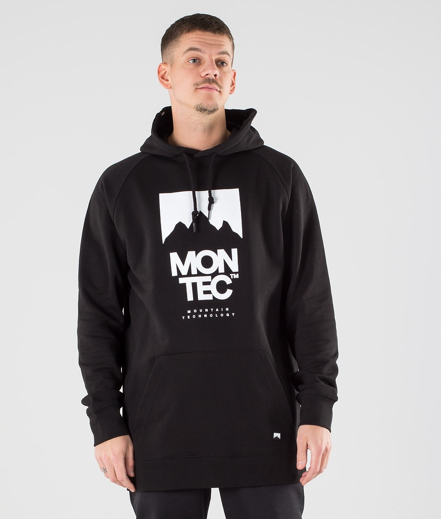 Montec Classic Hoodie Black