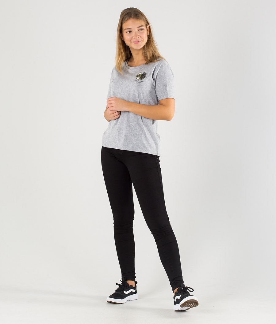 Burton Ashmore Scoop T-shirt Dam Gray Heather