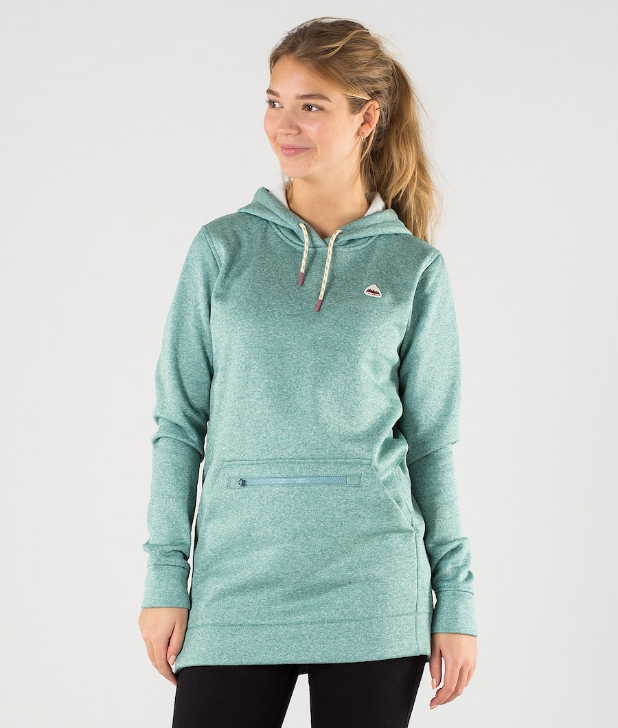 Burton Oak Long Sweatshirt Trellis Heather