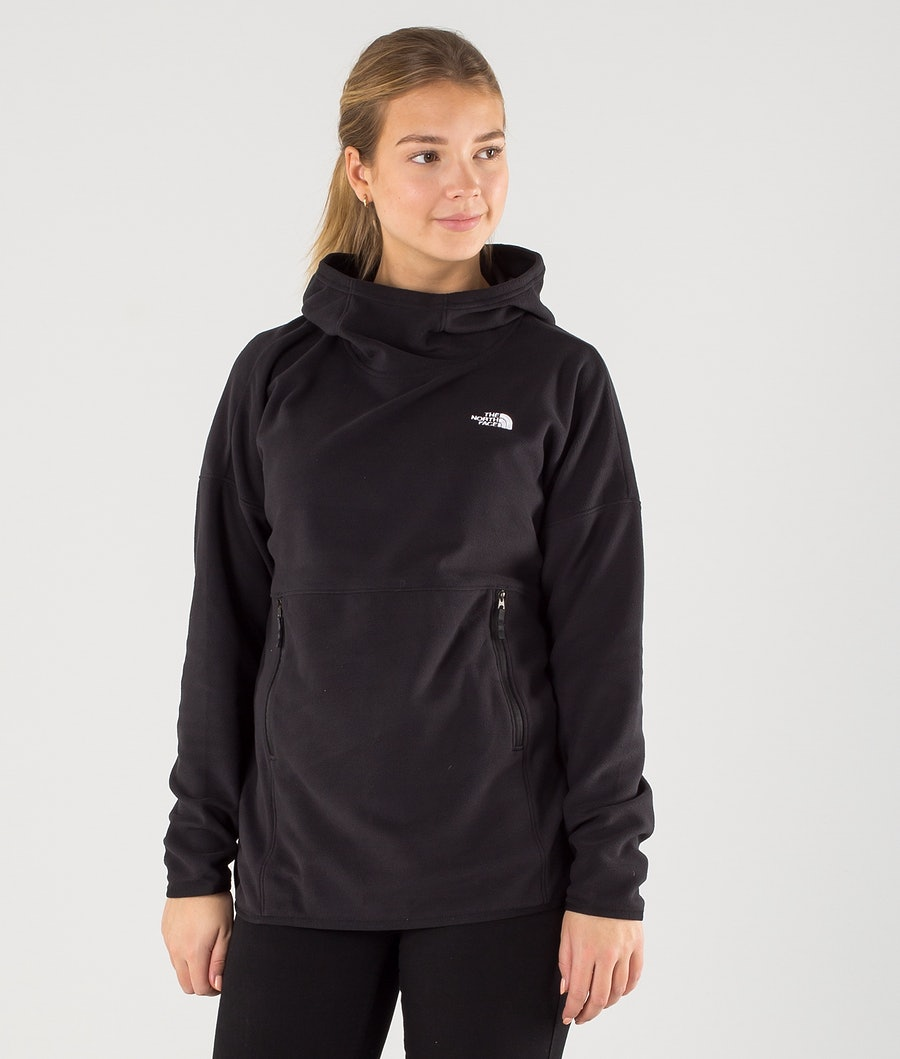 The North Face TKA Glacier Pullover Hood Tnf Black