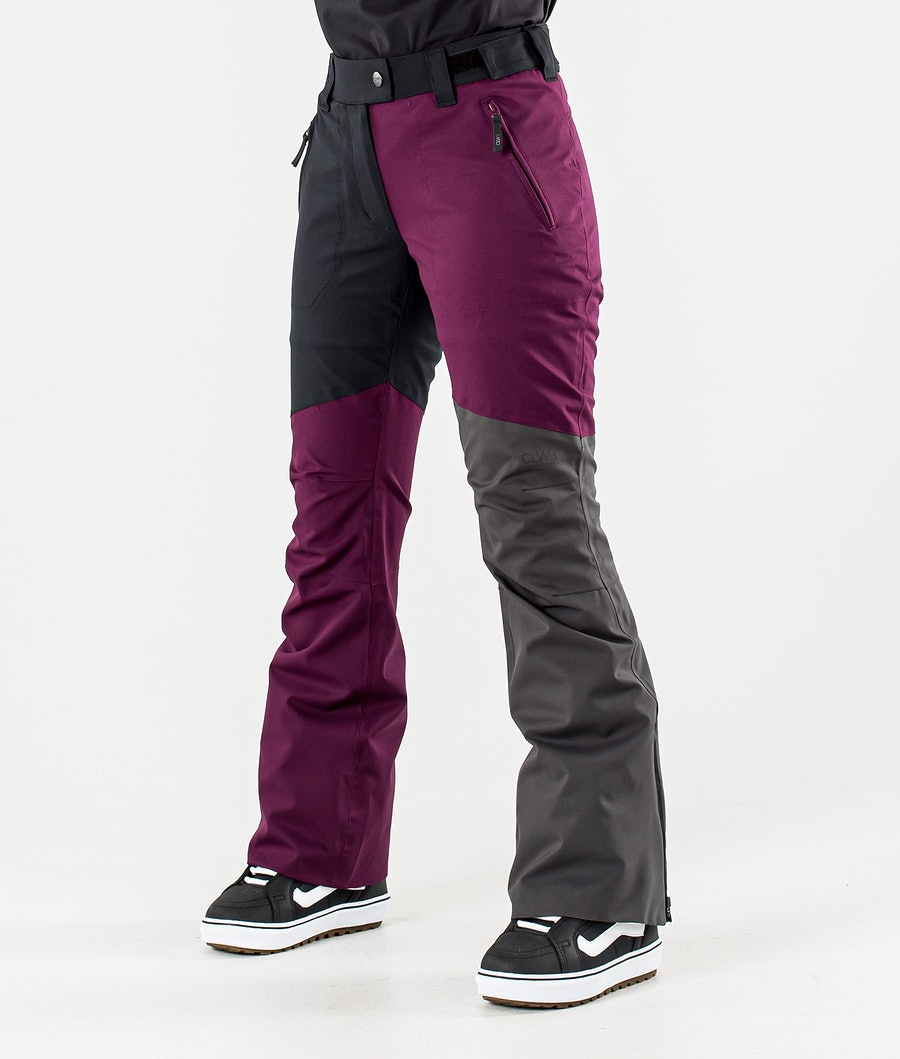 ColourWear Blaze Snowboard Pants Deep Red