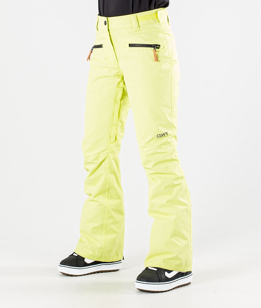 ColourWear Cork Snowboardhose Yellow