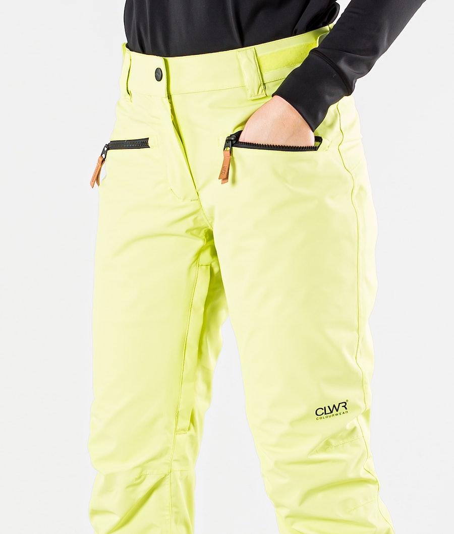 ColourWear Cork Snowboard Broek Dames Yellow