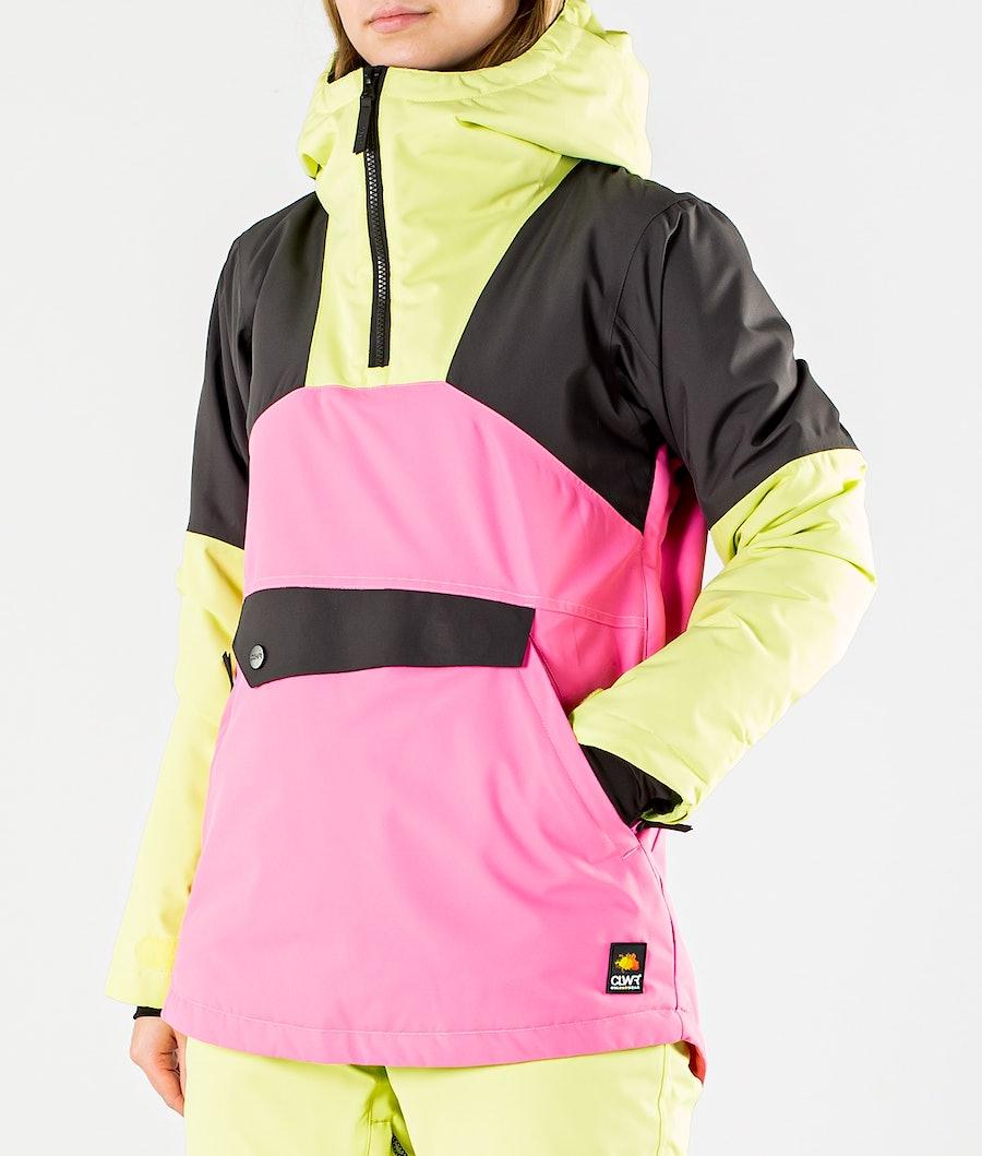 ColourWear Homage Anorak Snowboard jas Dames Yellow