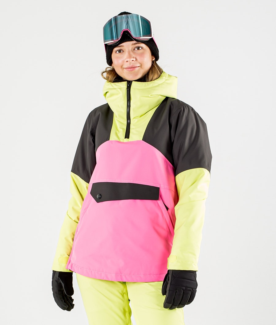 ColourWear Homage Anorak Snowboard Jacket Yellow