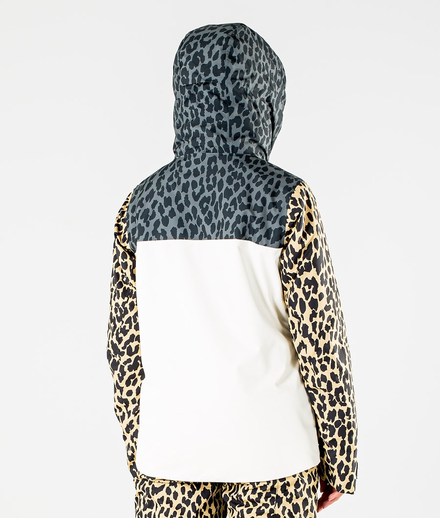 ColourWear Square Snowboard jas Dames Offwhite