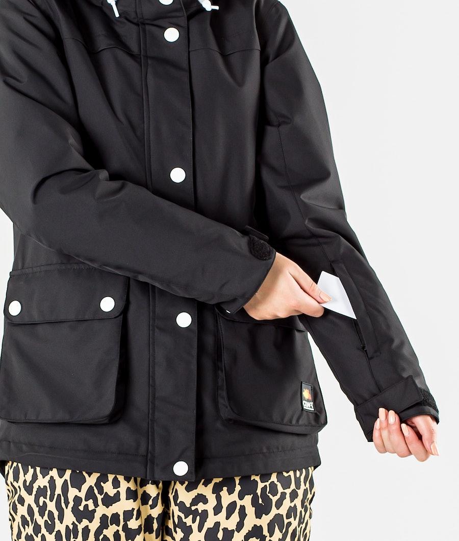 ColourWear Ida Snowboard jas Dames Black