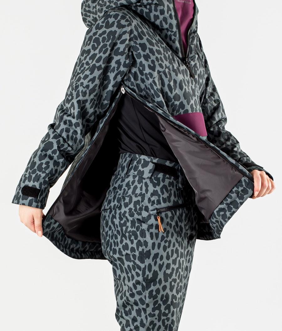 ColourWear Homage Anorak Snowboard jas Dames Black