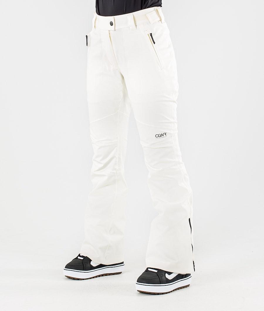 ColourWear Blaze Pantalon de Snowboard Offwhite