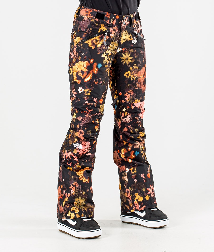 The North Face Aboutaday Snowboardbyxa Tnf Black Flower Child Multi Print