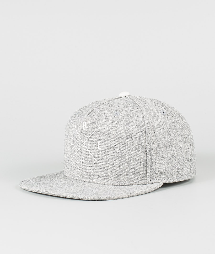 Dope 2X-UP Cap Heather Grey