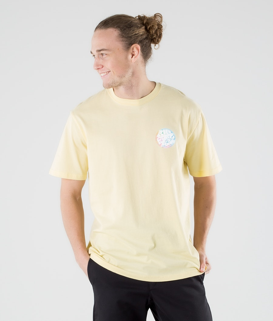 Rip Curl Wetty Party T-paita Pale Yellow