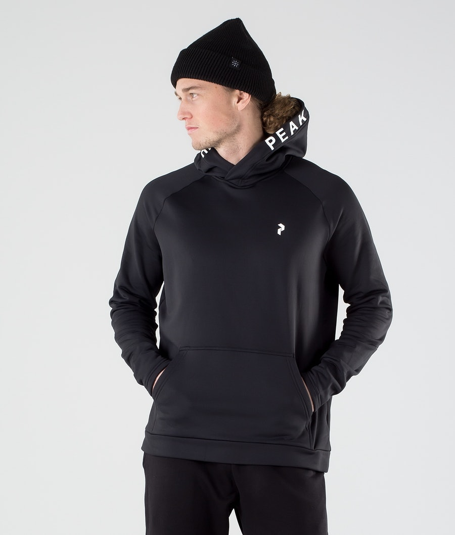 Peak Performance Rider Hood Black