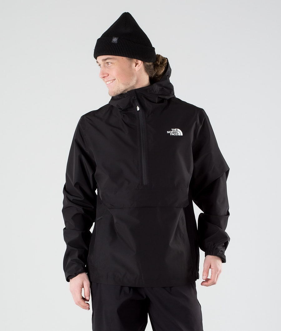 The North Face Waterproof Fanorak Regenjas Tnf Black