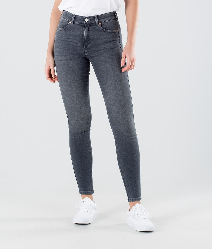 Dr Denim Lexy Hosen Grey Stone