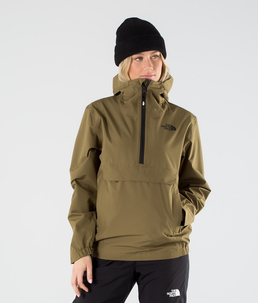 The North Face Waterproof Fanorak Outdoor Jacket Military Olive