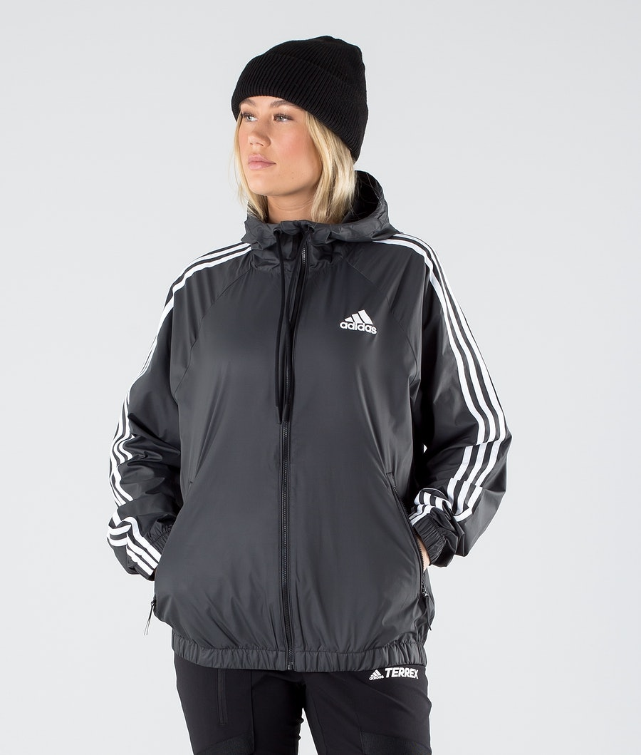 Adidas Terrex BSC 3 Stripes Wind Jacket Black