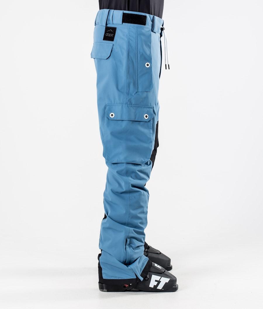 Dope Adept Skibukse Blue Steel/Black
