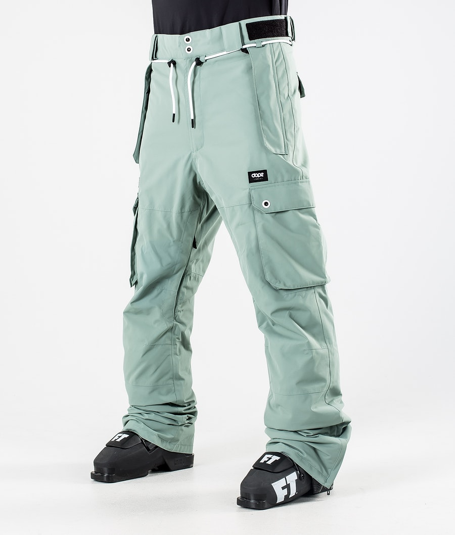 Dope Iconic Skibroek Faded Green