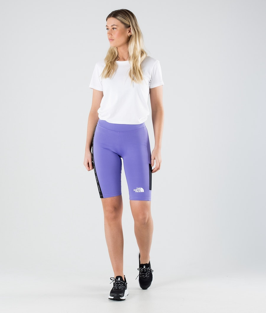 The North Face Train N Logo Outdoor Shorts Damen Pop Purple