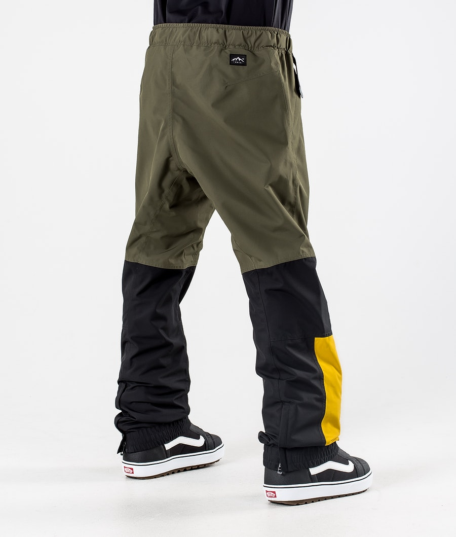 Dope Blizzard LE Pantalon de Snowboard Green Multicolour