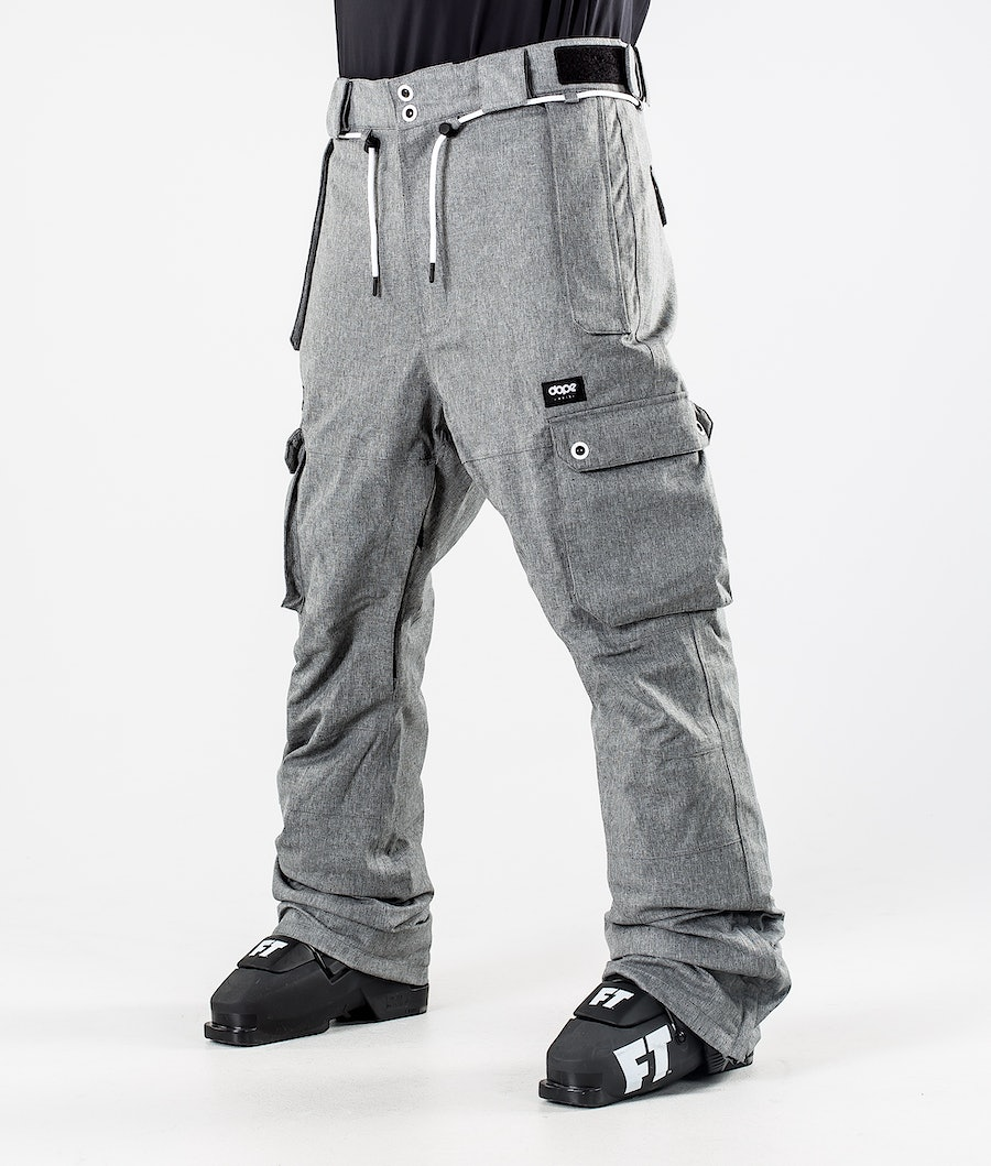 Dope Iconic Skibroek Grey Melange