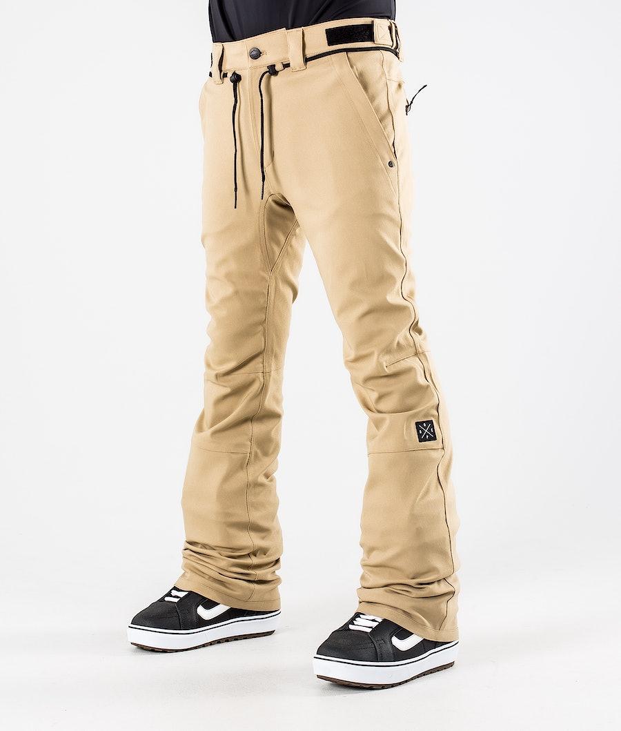Dope Tiger Snowboard Pants Khaki
