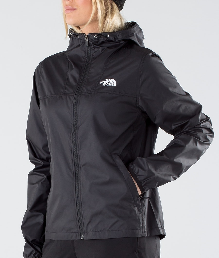 The North Face Cyclone FZ Outdoor Jas Dames Tnf Black