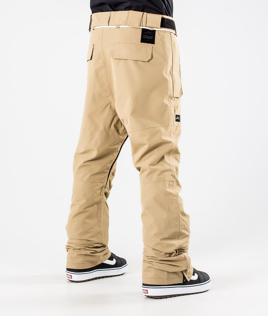 Dope Classic Pantalon de Snowboard Khaki