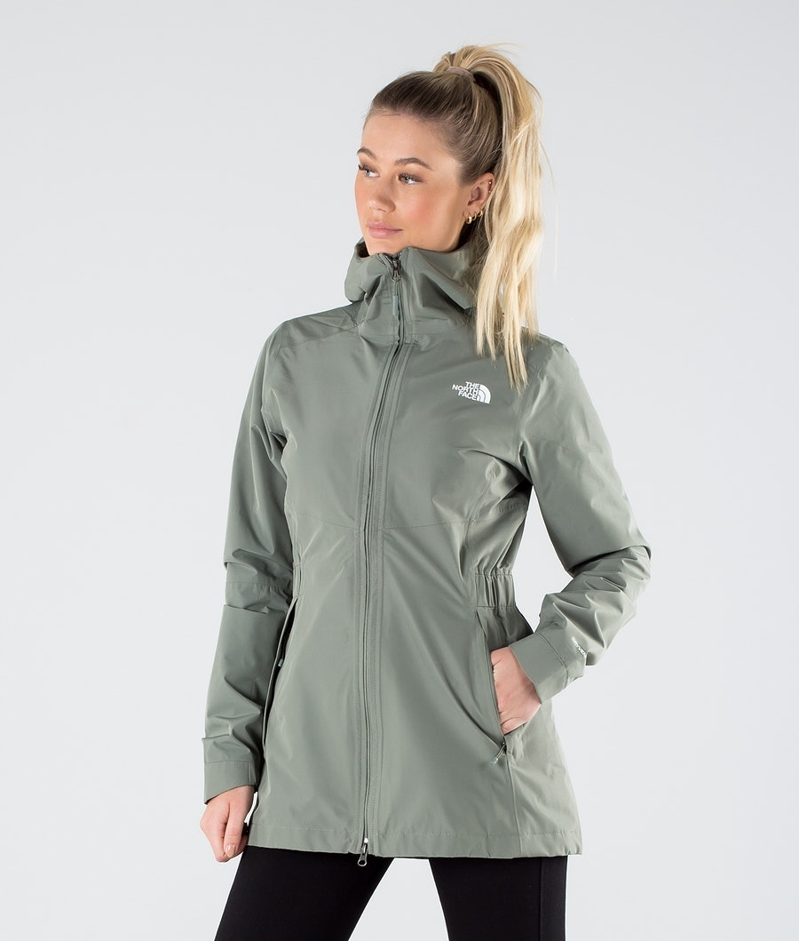 The North Face Hikesteller Parka Shell Ulkoilutakki Agave Green