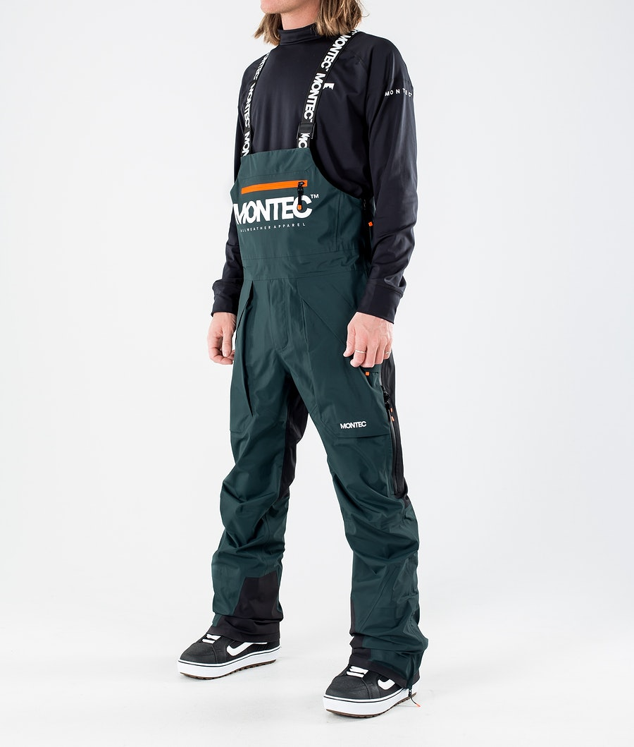 Montec Fenix 3L Snowboard Pants Dark Atlantic