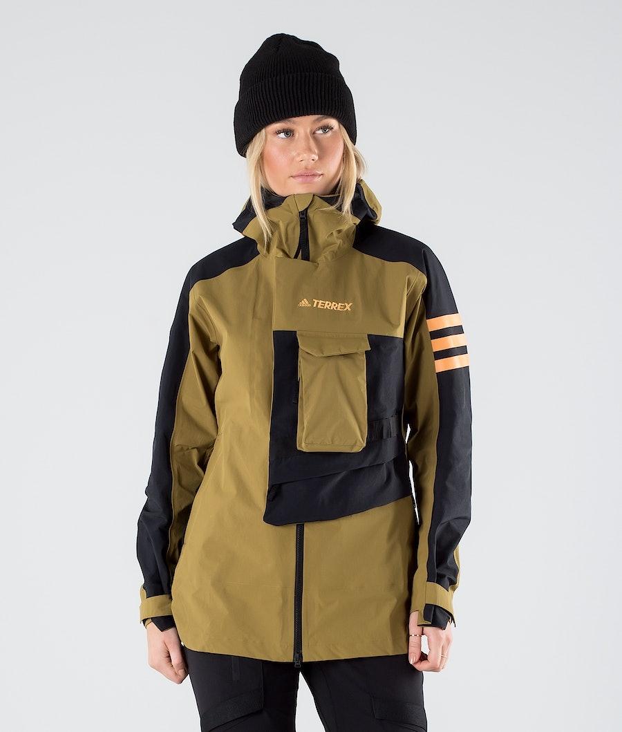 Adidas Terrex Xploric Jacket Wild Moss/Black