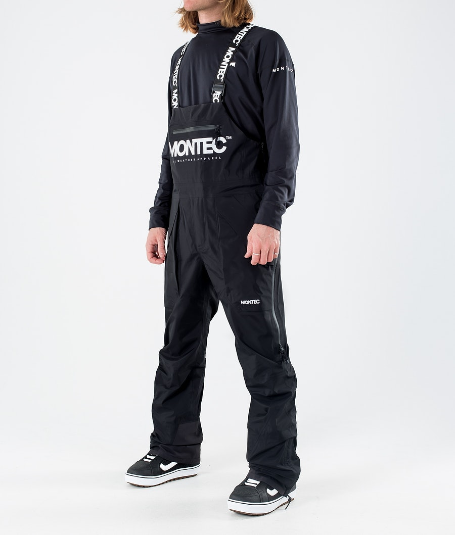 Montec Fenix 3L Pantalon de Snowboard Black