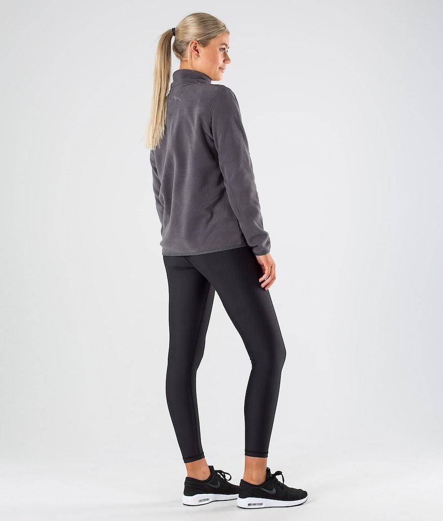 Dope Loyd W Polartec Women's Fleece Sweater Blackened Pearl