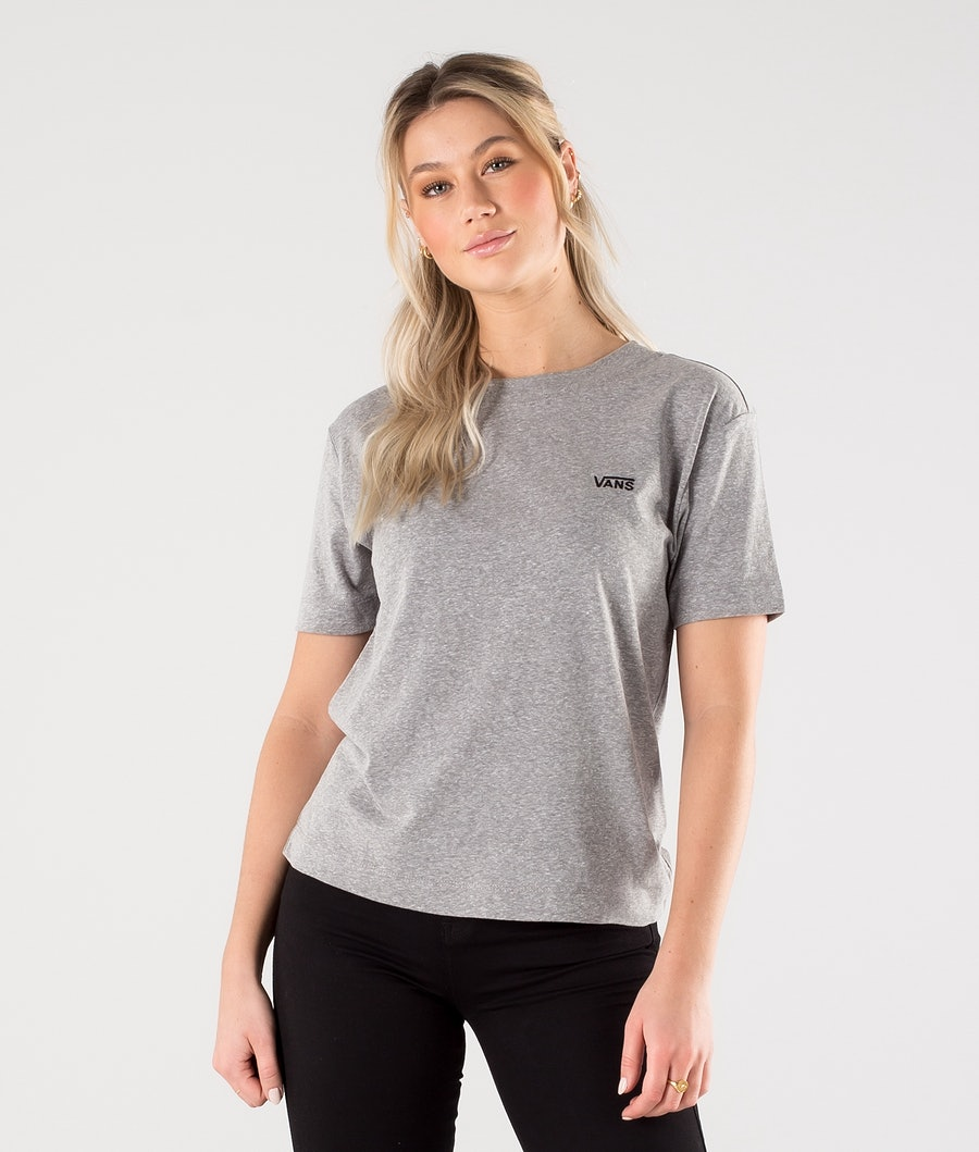 Vans Junior V Boxy T-Shirt Cement Heather