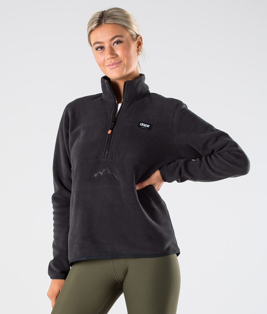 Dope Loyd W Polartec Fleece Trui Black