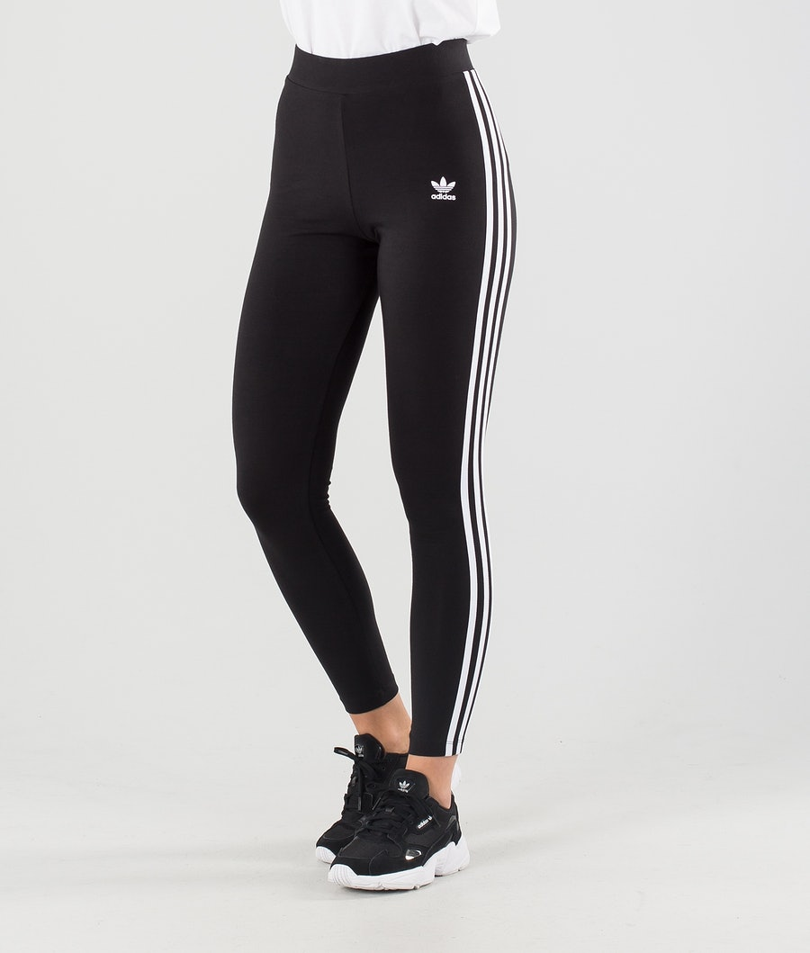 Adidas Originals 3 Stripes Leggings Black