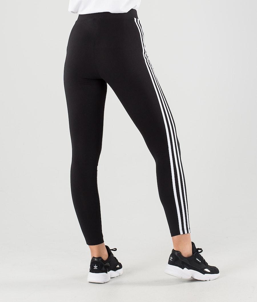 Adidas Originals 3 Stripes Leggings Damen Black