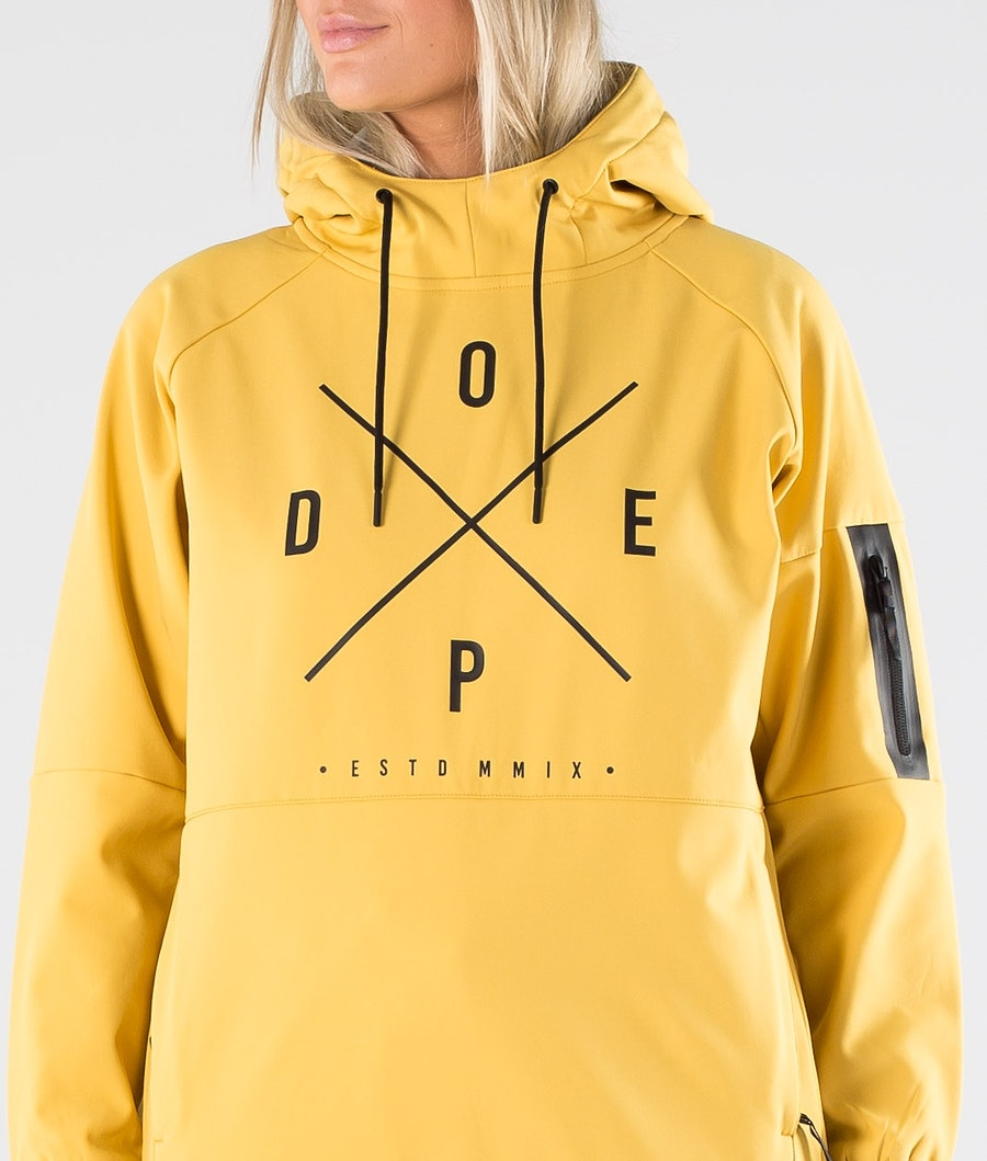 Dope Rambler W Women's Outdoor Jacket Yellow