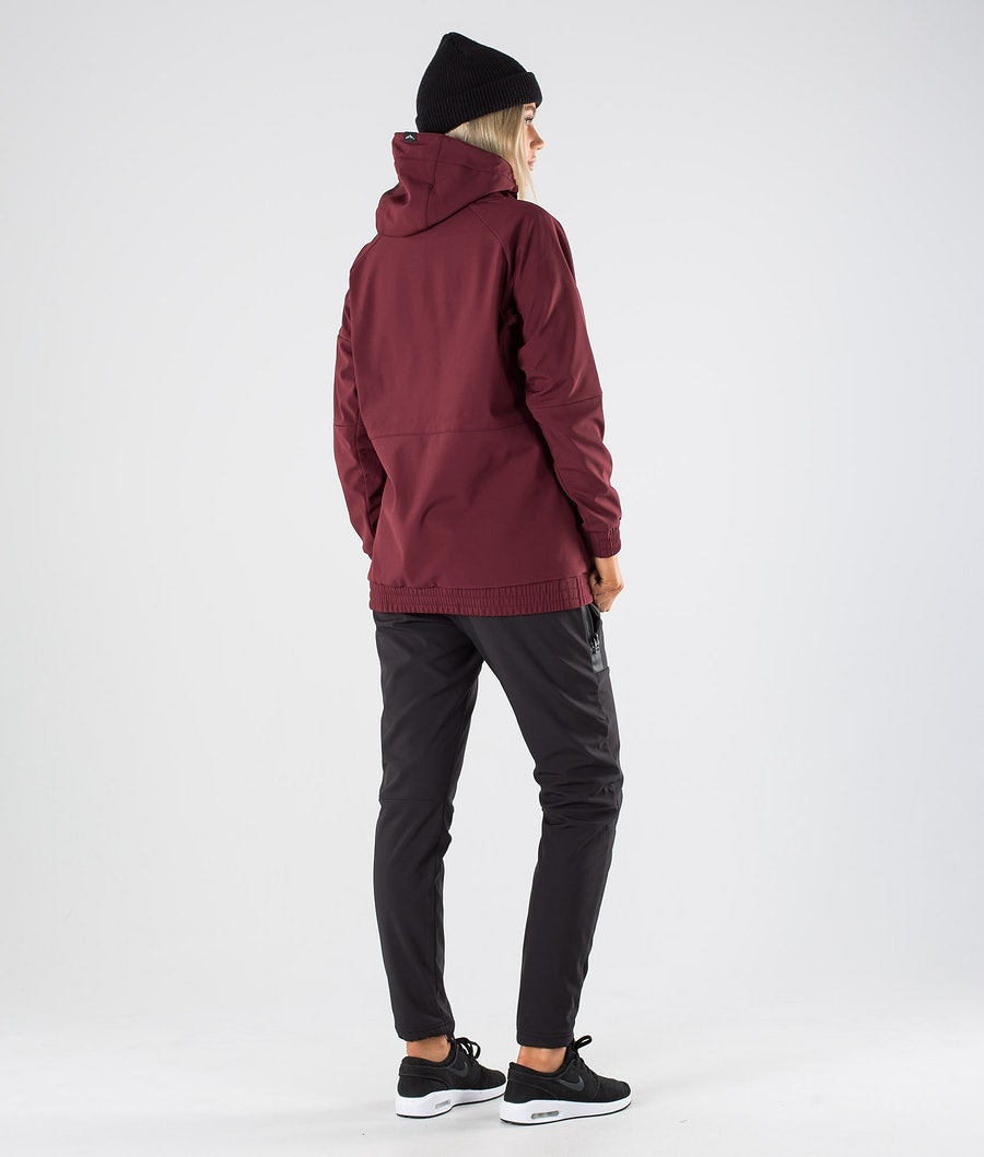 Dope Rambler W Women's Outdoor Jacket Burgundy