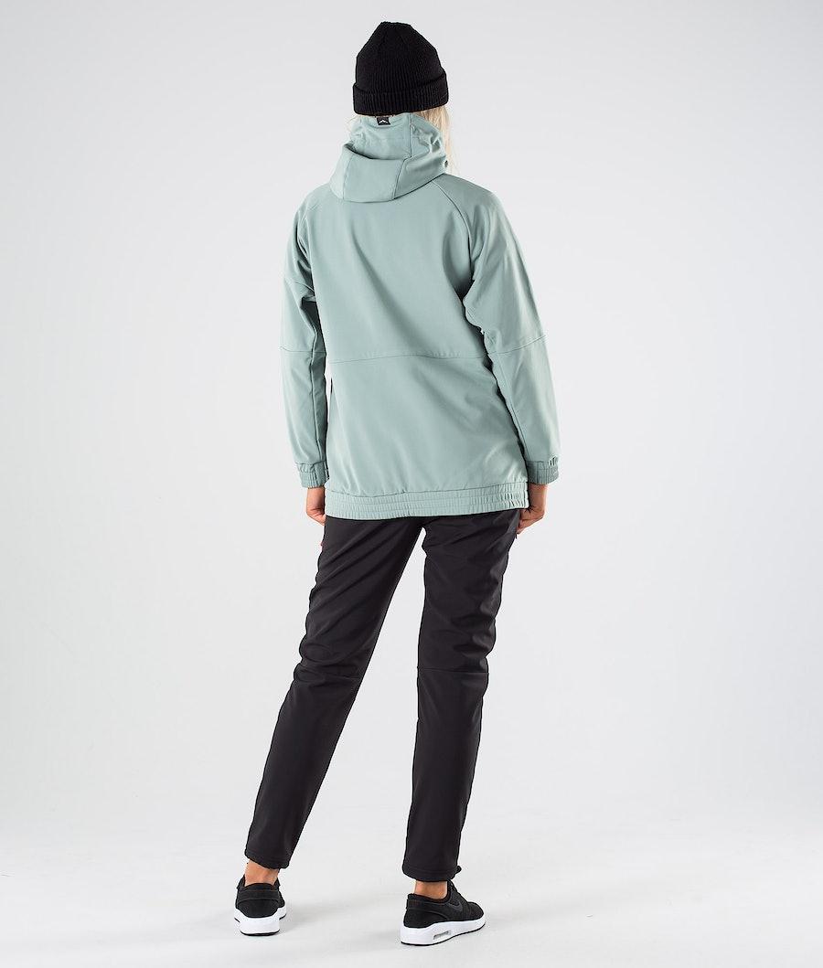 Dope Rambler W Women's Outdoor Jacket Faded Green