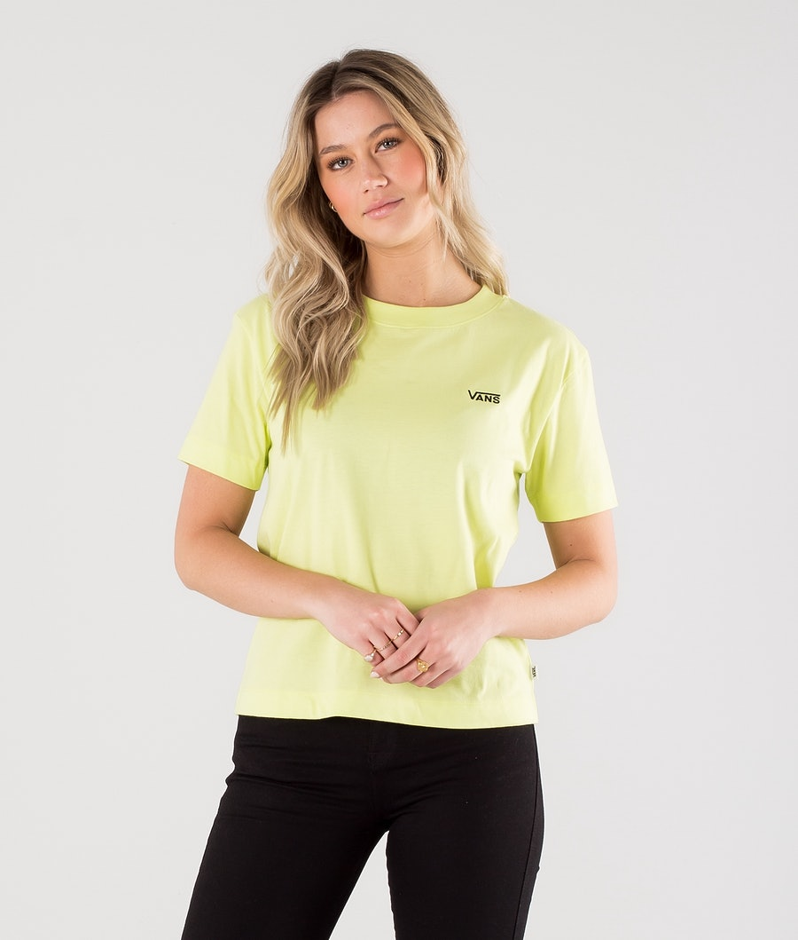 Vans Junior V Boxy T-shirt Sunny Lime